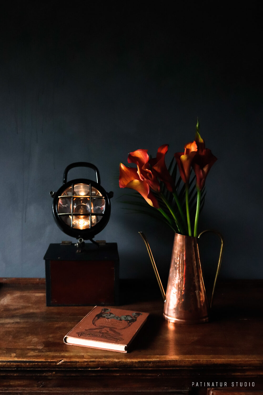 Photo Art | Dark and moody still life with orange objects